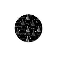 New Year Pattern - Gray Golf Ball Marker (10 Pack) by Valentinaart