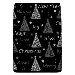 New Year Pattern   Gray Flap Covers (l)  by Valentinaart