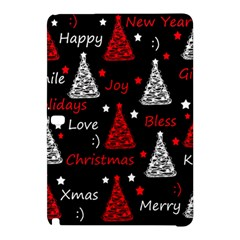 New Year Pattern   Red Samsung Galaxy Tab Pro 12 2 Hardshell Case by Valentinaart