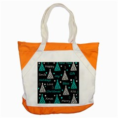 New Year Pattern   Cyan Accent Tote Bag by Valentinaart