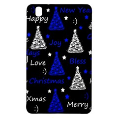 New Year Pattern   Blue Samsung Galaxy Tab Pro 8 4 Hardshell Case by Valentinaart