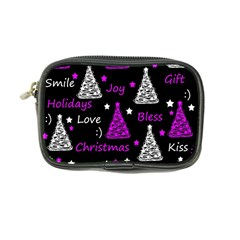 New Year Pattern   Purple Coin Purse by Valentinaart
