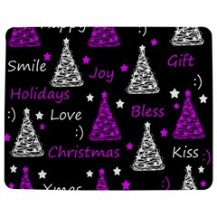 New Year Pattern   Purple Jigsaw Puzzle Photo Stand (rectangular) by Valentinaart