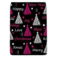 New Year Pattern   Magenta Flap Covers (l)  by Valentinaart