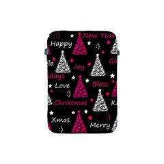 New Year Pattern   Magenta Apple Ipad Mini Protective Soft Cases by Valentinaart