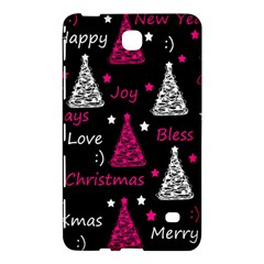 New Year Pattern   Magenta Samsung Galaxy Tab 4 (8 ) Hardshell Case  by Valentinaart