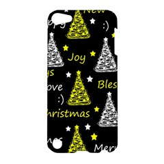 New Year Pattern   Yellow Apple Ipod Touch 5 Hardshell Case by Valentinaart