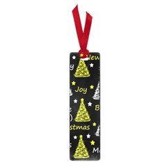 New Year Pattern   Yellow Small Book Marks by Valentinaart