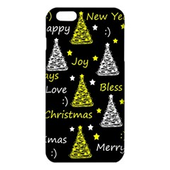 New Year Pattern   Yellow Iphone 6 Plus/6s Plus Tpu Case by Valentinaart