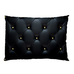Black Skin Pillow Case by AnjaniArt