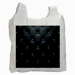 Black Skin Recycle Bag (two Side)  by AnjaniArt