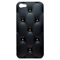 Black Skin Apple Iphone 5 Hardshell Case