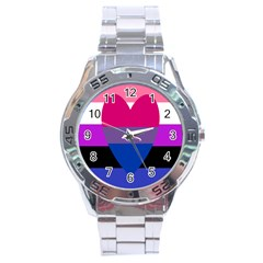 Combo Flag Stainless Steel Analogue Watch