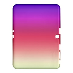 Blue Pink Purple Red Samsung Galaxy Tab 4 (10 1 ) Hardshell Case