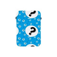 Blue Question Mark Apple Ipad Mini Protective Soft Cases