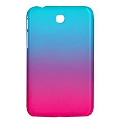 Blue Pink Purple Samsung Galaxy Tab 3 (7 ) P3200 Hardshell Case  by AnjaniArt