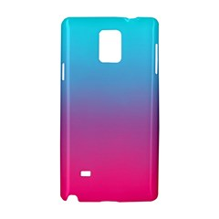 Blue Pink Purple Samsung Galaxy Note 4 Hardshell Case