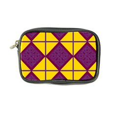 Complexion Purple Yellow Coin Purse