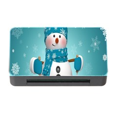 Cute Snowman Memory Card Reader With Cf