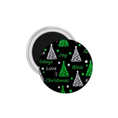 New Year Pattern   Green 1 75  Magnets by Valentinaart