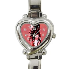 Day Dreaming Anime Girl Heart Italian Charm Watch by Brittlevirginclothing