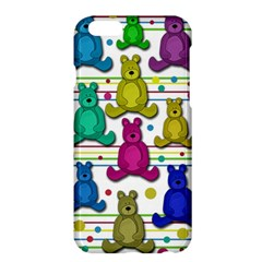 Teddy Bear Apple Iphone 6 Plus/6s Plus Hardshell Case by Valentinaart
