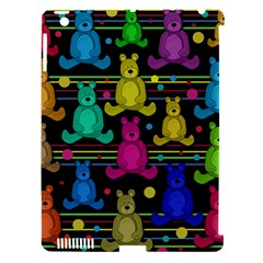 Teddy Bear 2 Apple Ipad 3/4 Hardshell Case (compatible With Smart Cover) by Valentinaart