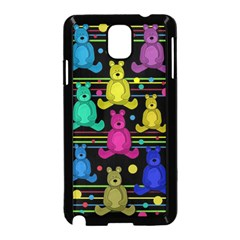 Teddy Bear 2 Samsung Galaxy Note 3 Neo Hardshell Case (black) by Valentinaart