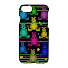 Teddy Bear 2 Apple Iphone 7 Hardshell Case by Valentinaart