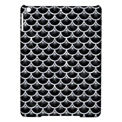Scales3 Black Marble & Gray Marble Apple Ipad Air Hardshell Case by trendistuff