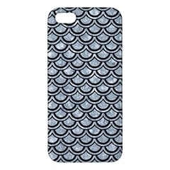 Scales2 Black Marble & Gray Marble (r) Apple Iphone 5 Premium Hardshell Case by trendistuff