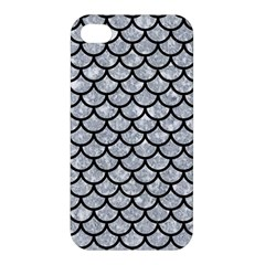 Scales1 Black Marble & Gray Marble (r) Apple Iphone 4/4s Premium Hardshell Case by trendistuff