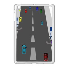 Highway Apple Ipad Mini Case (white) by AnjaniArt