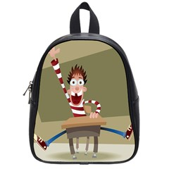 Hig School School Bags (small)  by AnjaniArt
