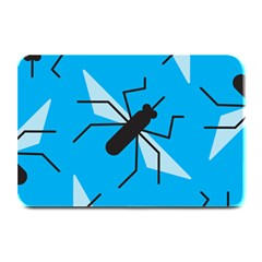 Mosquito Blue Black Plate Mats