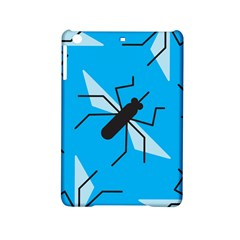 Mosquito Blue Black Ipad Mini 2 Hardshell Cases by AnjaniArt
