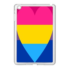 Panromantic Flags Love Apple Ipad Mini Case (white)
