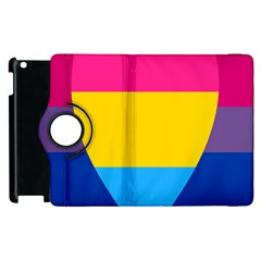 Panromantic Flags Love Apple Ipad 2 Flip 360 Case