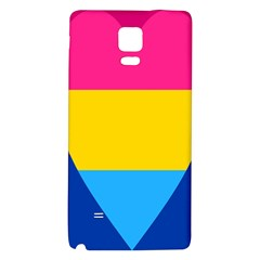Panromantic Flags Love Galaxy Note 4 Back Case