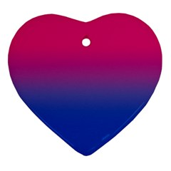 Pink Blue Purple Ornament (heart)  by AnjaniArt