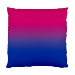 Pink Blue Purple Standard Cushion Case (one Side)