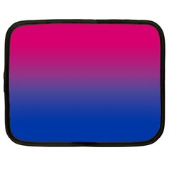 Pink Blue Purple Netbook Case (xl)  by AnjaniArt