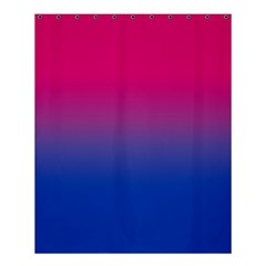 Pink Blue Purple Shower Curtain 60  X 72  (medium)  by AnjaniArt