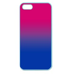 Pink Blue Purple Apple Seamless Iphone 5 Case (color)