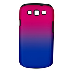 Pink Blue Purple Samsung Galaxy S Iii Classic Hardshell Case (pc+silicone) by AnjaniArt