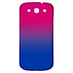 Pink Blue Purple Samsung Galaxy S3 S Iii Classic Hardshell Back Case