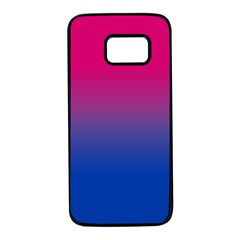 Pink Blue Purple Samsung Galaxy S7 Black Seamless Case