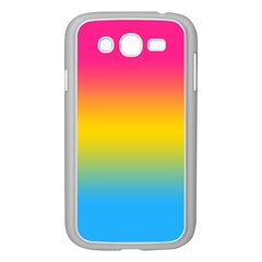 Pink Orange Green Blue Samsung Galaxy Grand Duos I9082 Case (white)