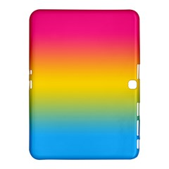 Pink Orange Green Blue Samsung Galaxy Tab 4 (10 1 ) Hardshell Case  by AnjaniArt