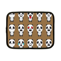 Panda Emoticon Netbook Case (small)
